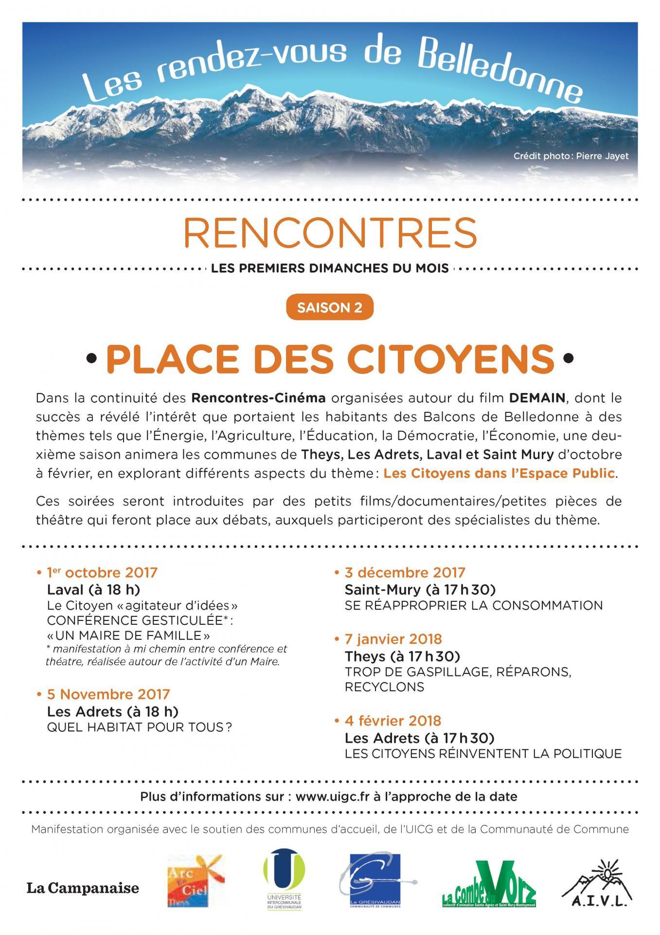 Flyer rencontres agenda a5 2