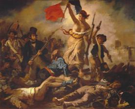 La Liberté guidant le peuple. Eugène Delacroix