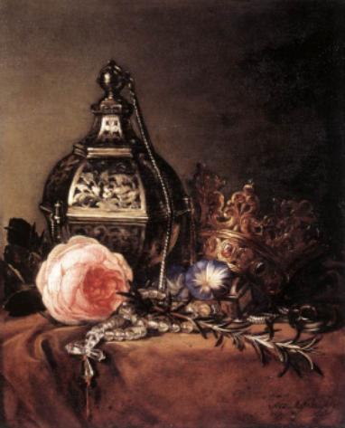 Dirck de Bray, Nature-Morte - 1672