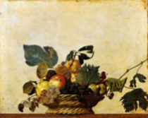 Caravage Corbeille de fruits
