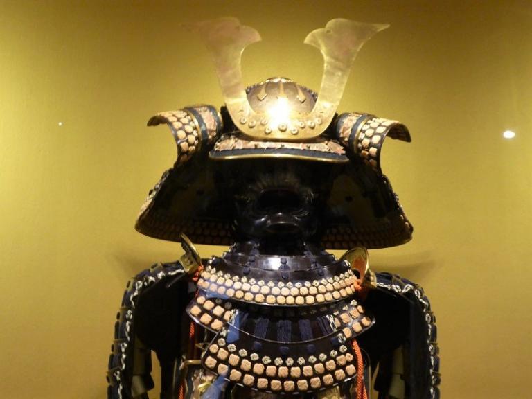 10- Casque samourai