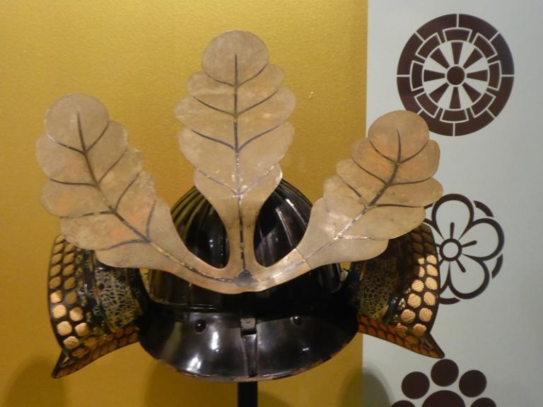 11- Casque samourai