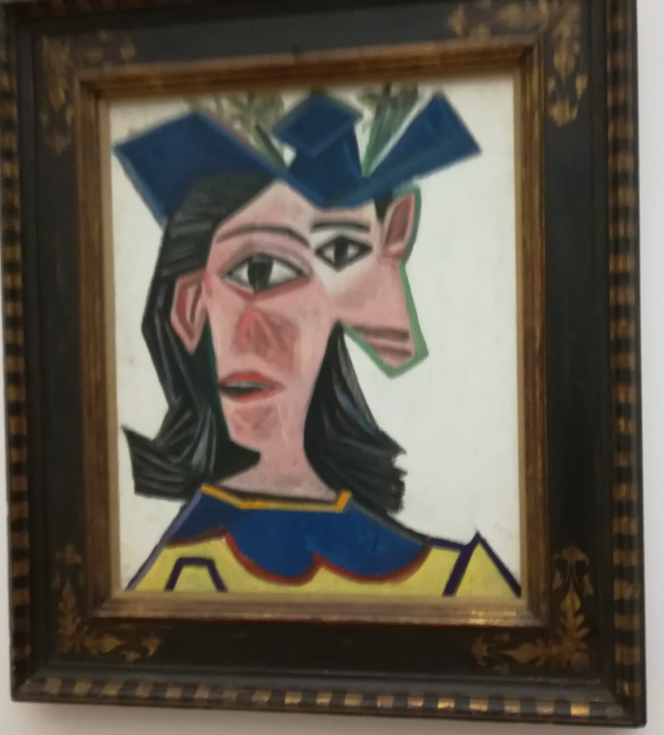 Buste de femme au chapeau  -  Dora Maar  1939