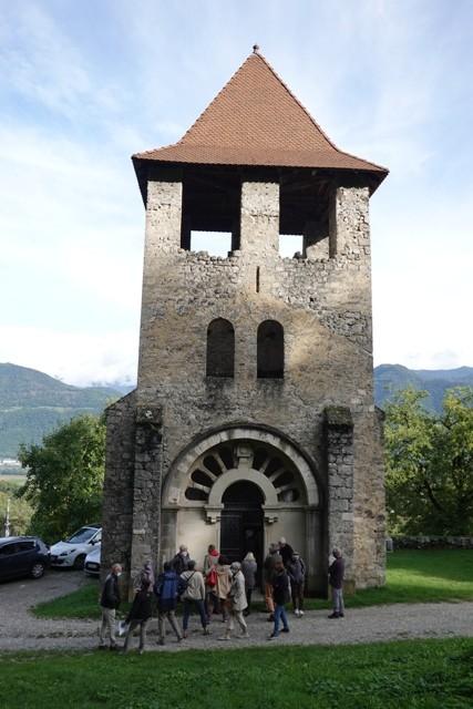 La vieille église de Saint-Vincent-de-Mercuze...