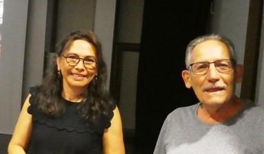 Céline Claus chaleureusement remerciée par le président de l'UICG