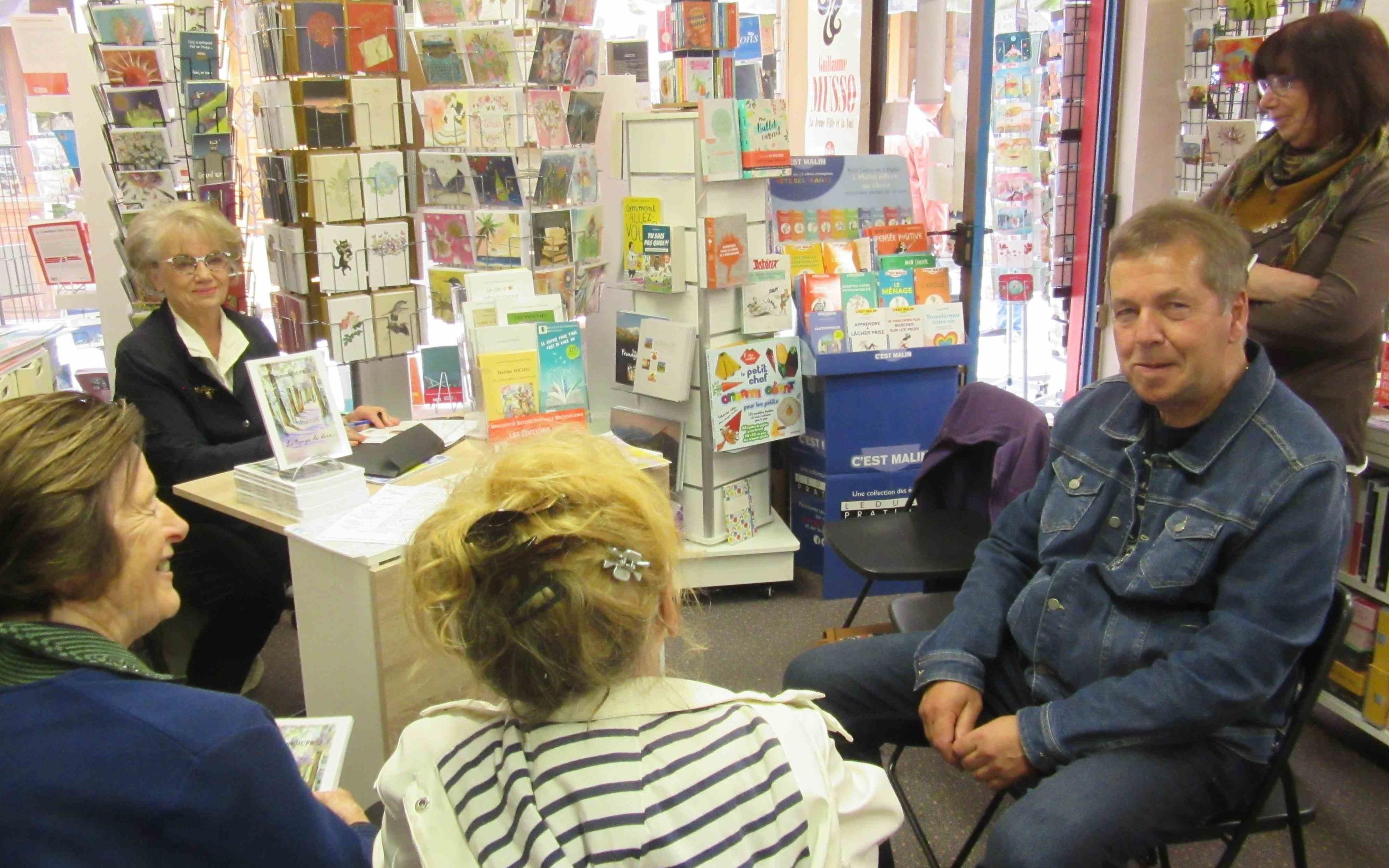 Dédicaces à la librairie d'Allevard