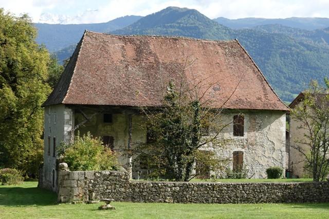Maison natale vue depuis la fonderie