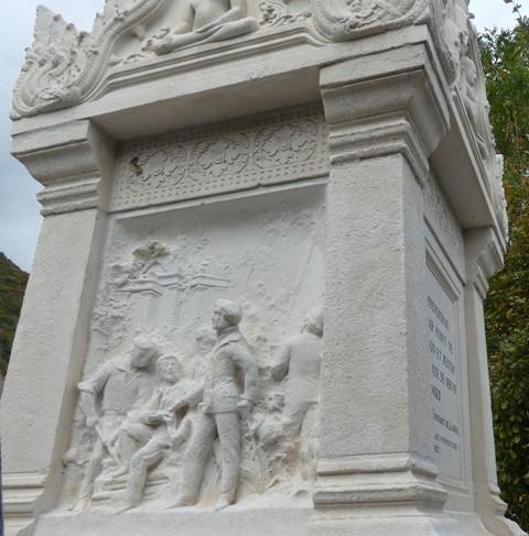 Monument hommage (Saint-Vincent-de-Mercuze)