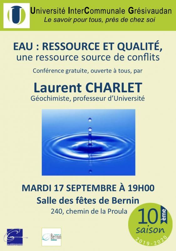 Conference l charlet