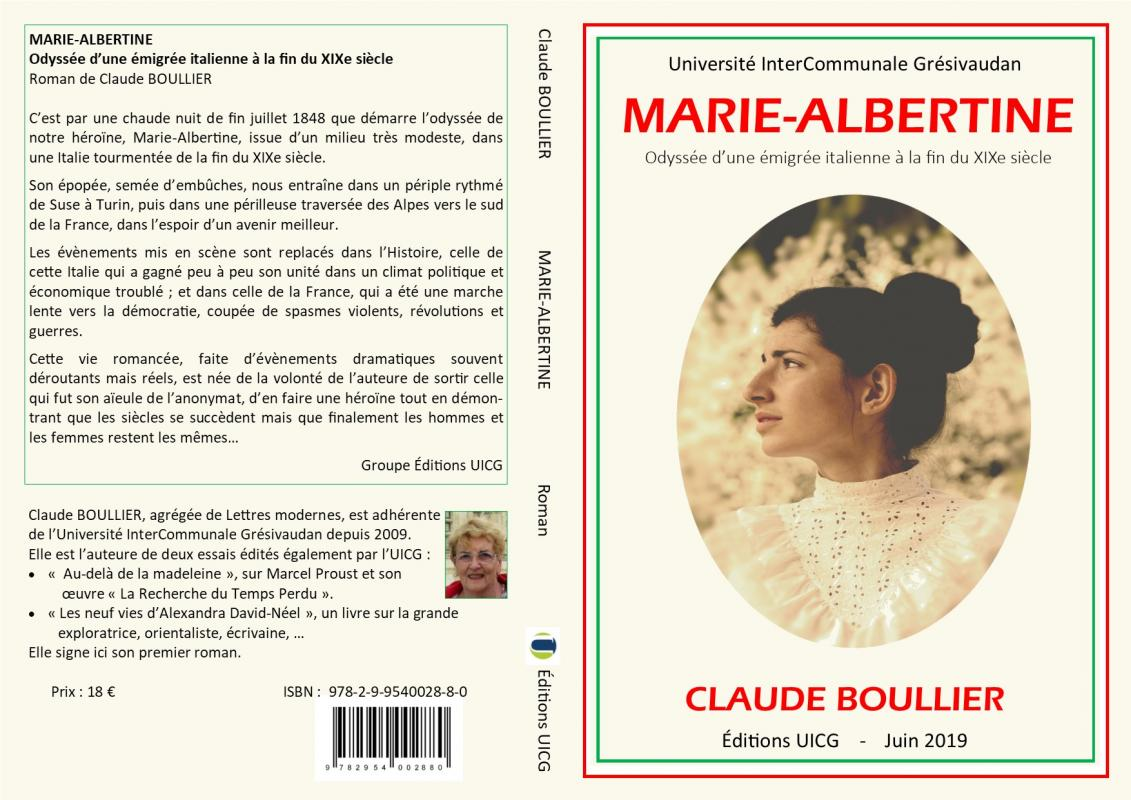 Couverture marie albertine