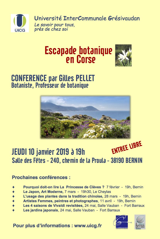 Affiche conférence Gilles Pellet