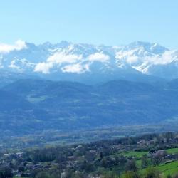 La vallée du Grésivaudan, la chaine de Belledonne
