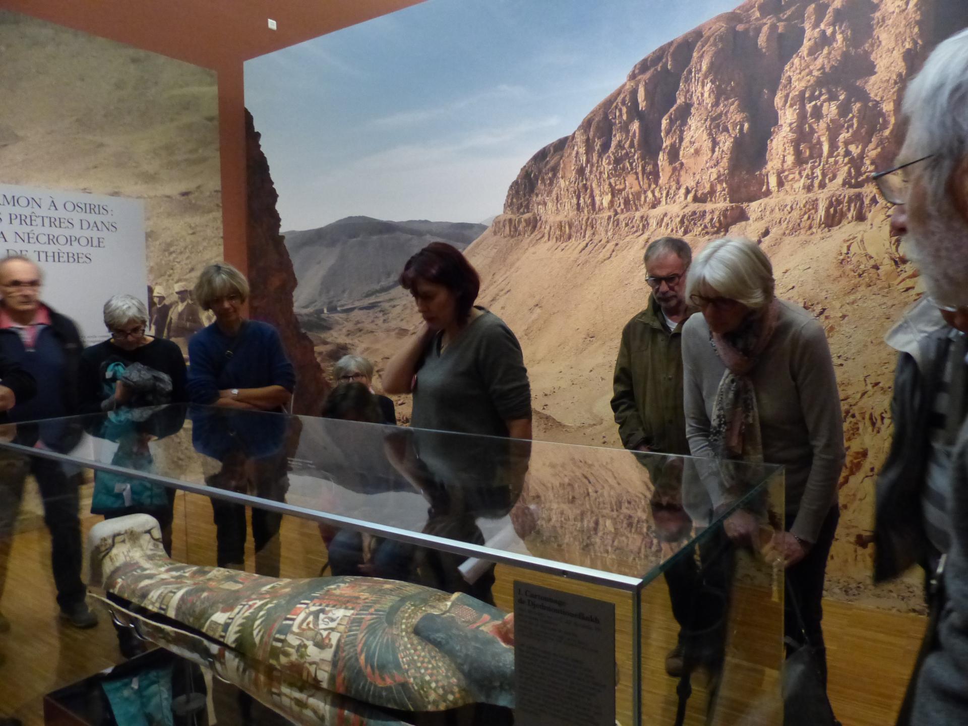 Exposition Égyptienne