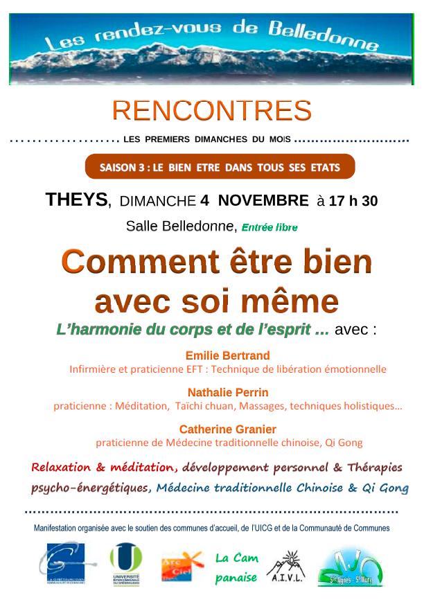 Rencontres 4 novembre
