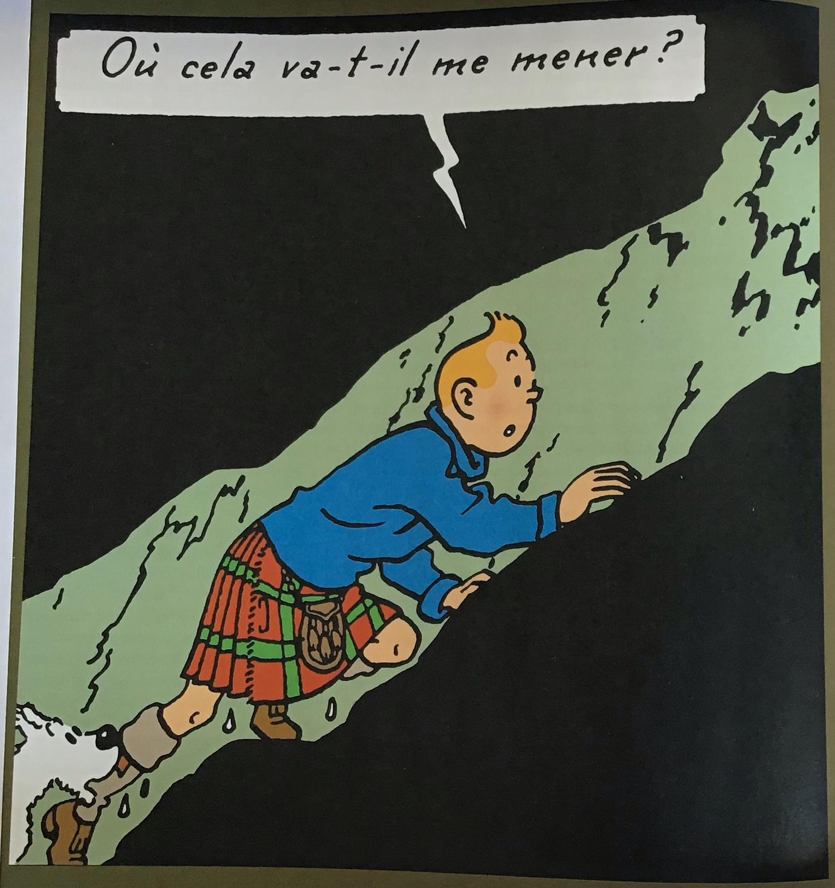 Tintin tunnel ilenoire